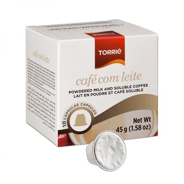Torrie Nespresso Coffee w/ Milk