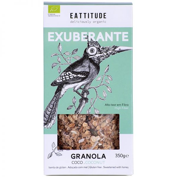 Eattitude Exuberante   Coconut Granola