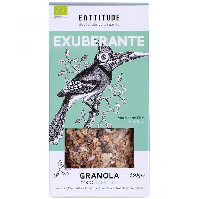 Eattitude Exuberante | Coconut Granola