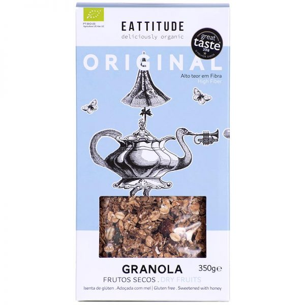 Eattitude Original   Dried Fruits Granola