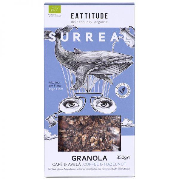 Eattitude Surreal | Coffee & Hazelnut Granola